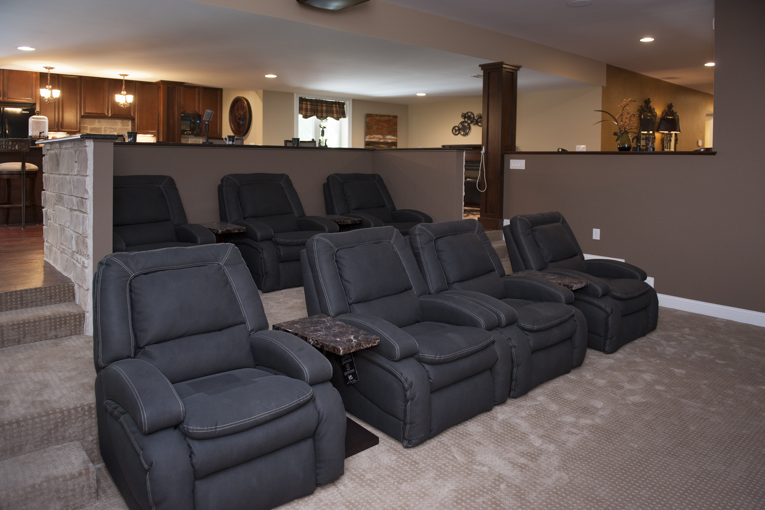 Media / Family Room Projects