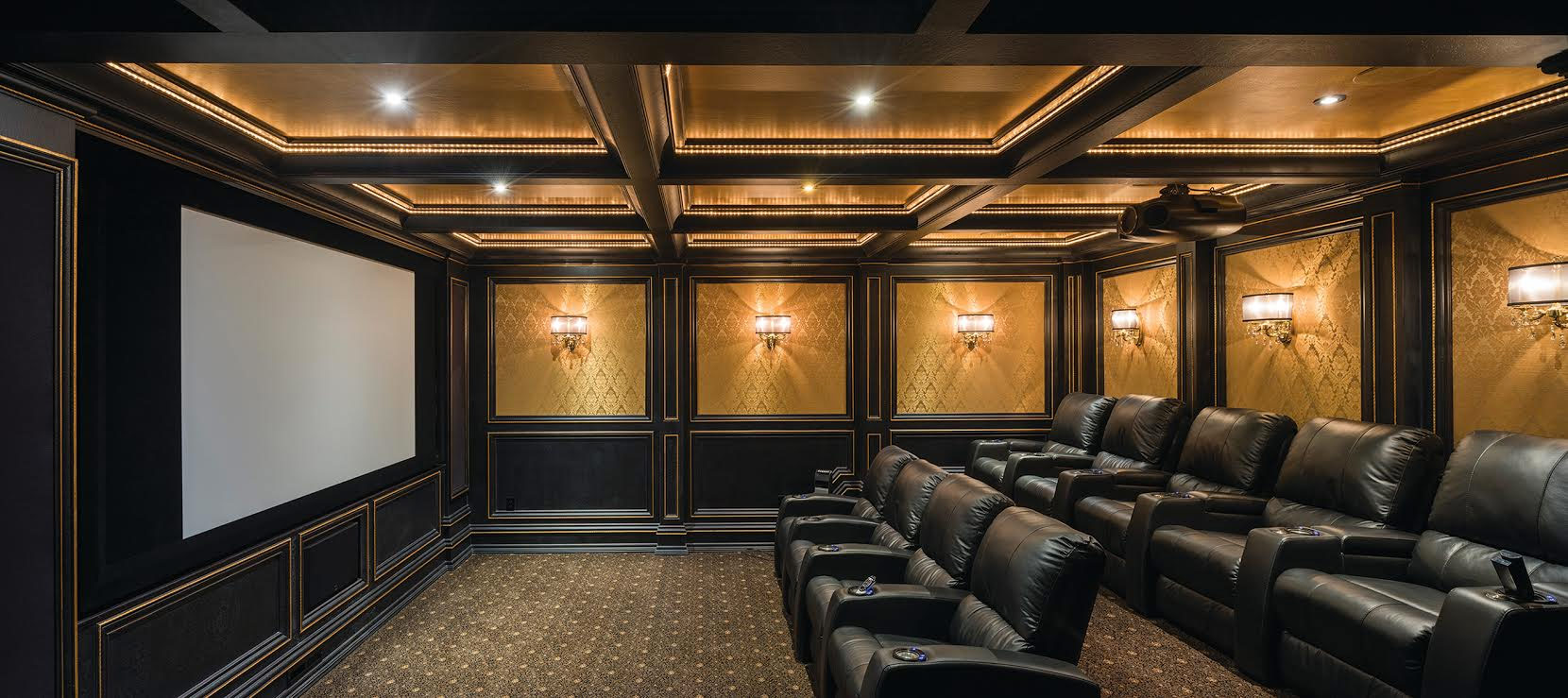 Home Theater Media Rooms Hanson Audio Video